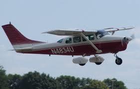 Plane Flights  Domestic Cessna 206