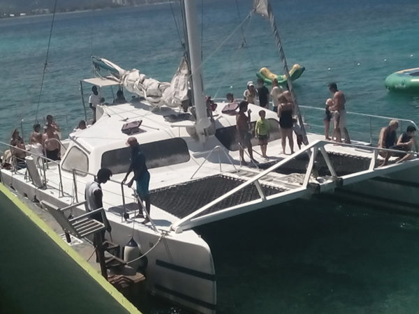 Catamaran montego bay to Negril catamaran Tours